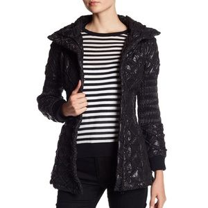 Maac London underworld puffer black jacket size 2